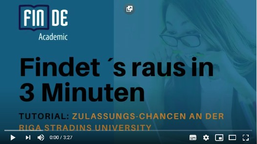 Video: Medizinstudium in Riga. Das sind die Chancen.